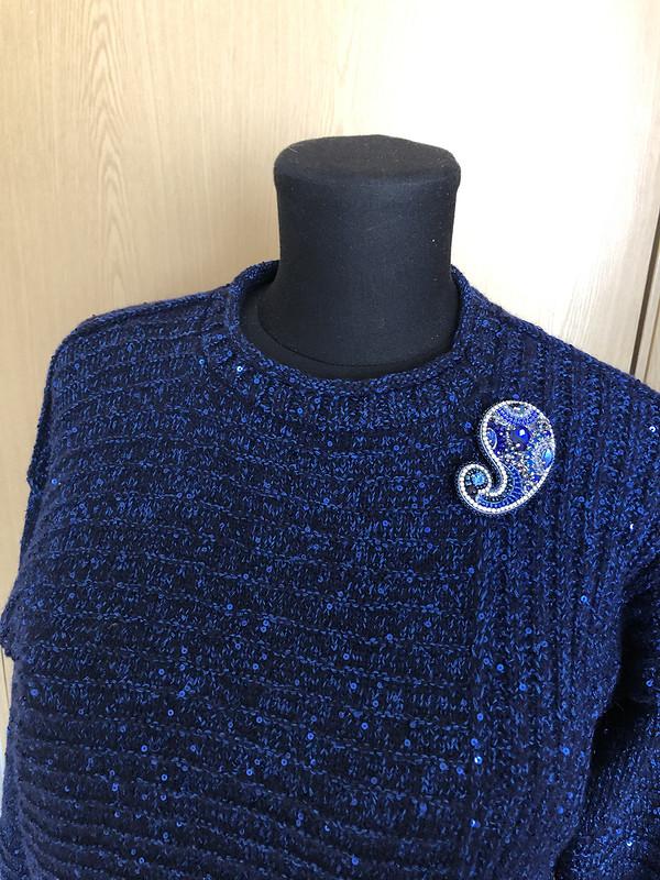 С днем вязания! Пуловер ифутболка от logele