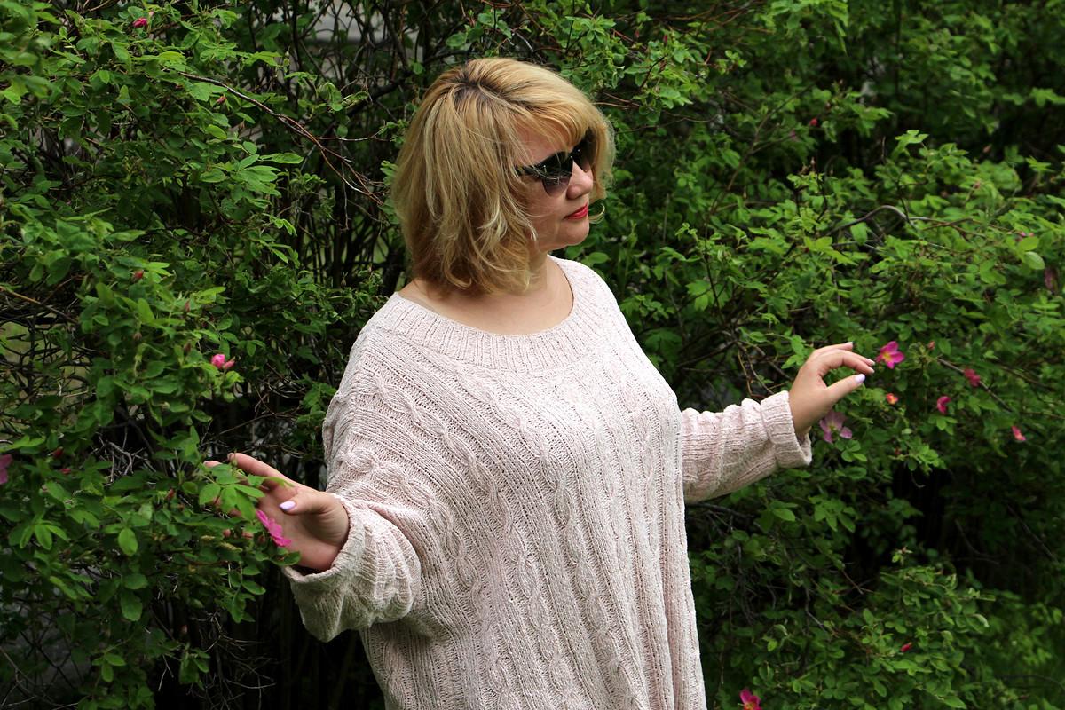 И снова - СДнем Вязания!!!!! Пуловер от Майя Третьякова
