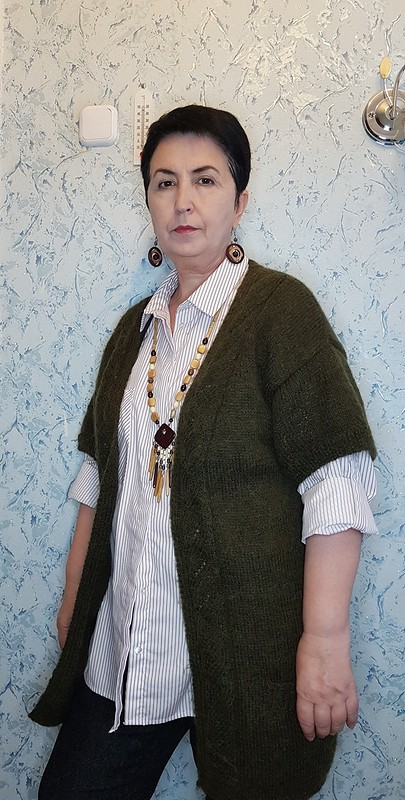 С Днем вязания! Привет изАдыгеи! Пуловер, жилет икардиган от SiyukhovaAminet