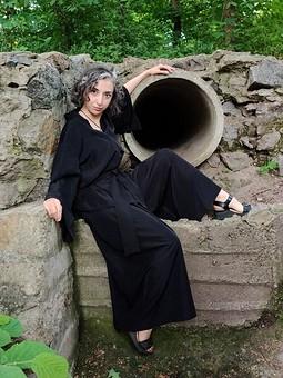 Работа с названием Пижамно-японский костюм