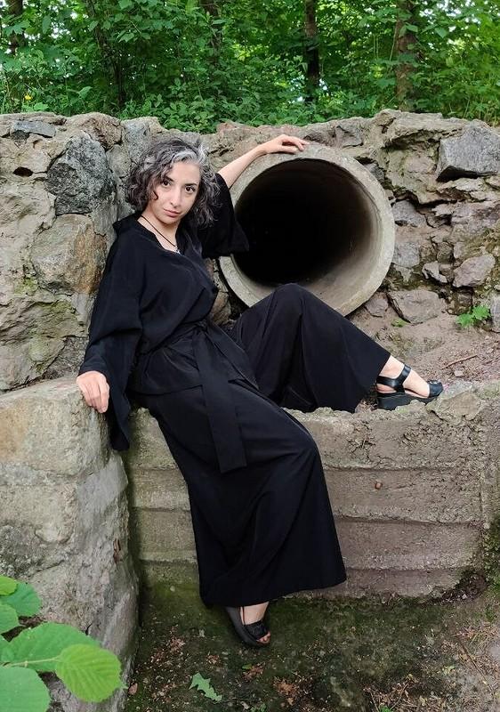 Пижамно-японский костюм от Garpia