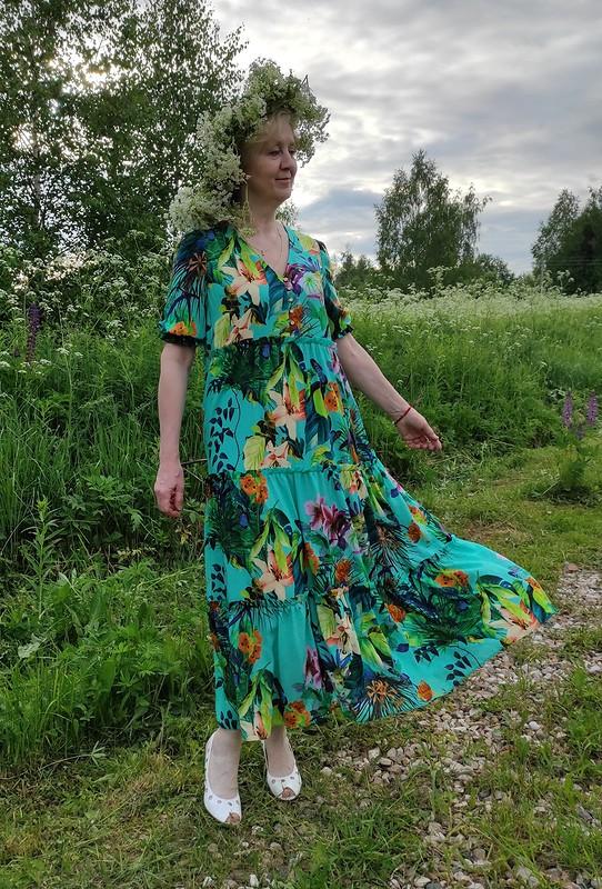 Платье встиле Ампир от Vikkilevit