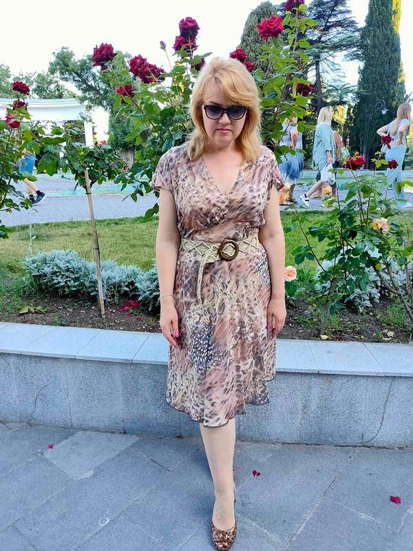 Платье излёгкого прозрачного трикотажа от Татьяна Славинская