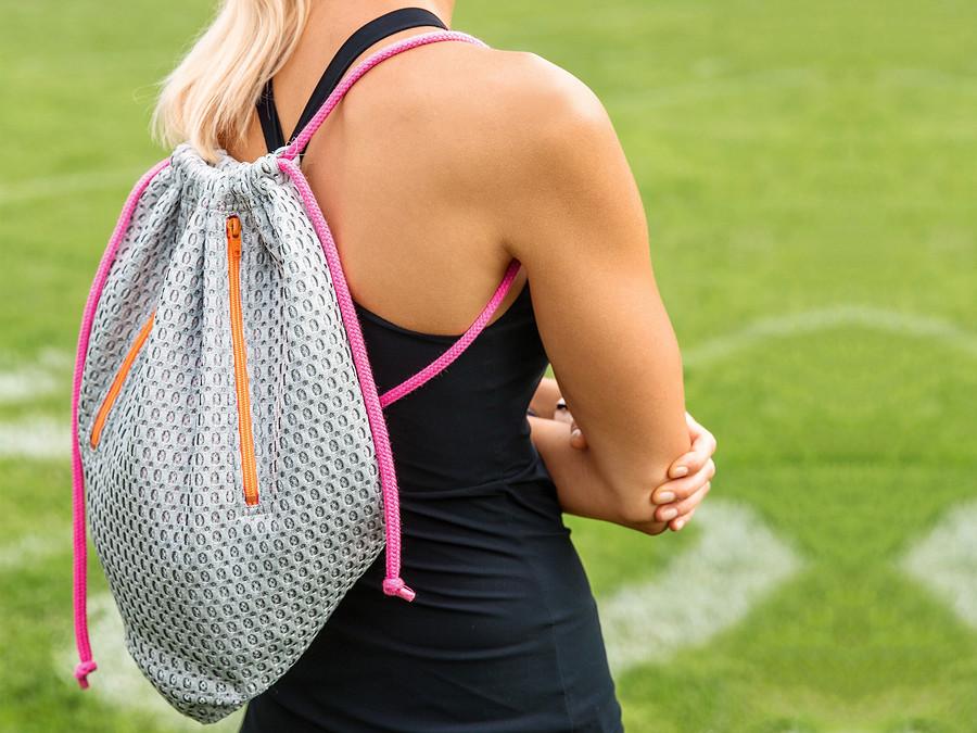 Рюкзак-мешок вспортивном стиле своими руками