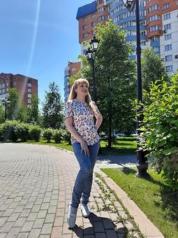Работа с названием Летняя блуза ♡♥♡