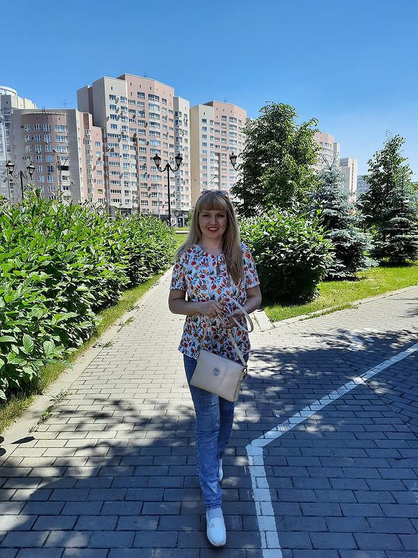 Летняя блуза ♡♥♡ от MilAnna