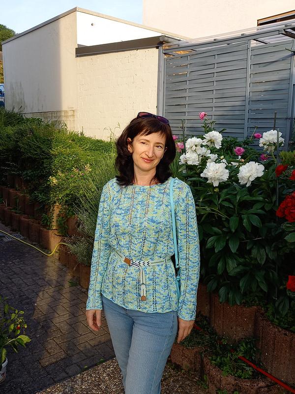 Пуловер вярких красках от Lanawind