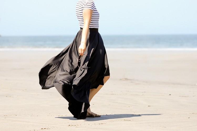Идея: асимметричная юбка безвыкройки