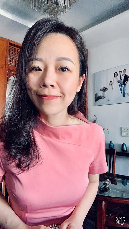 Платье «The unique pink dress that I love so much» от Binh Ngo