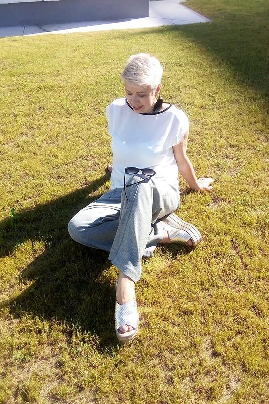 Блузка «Легкая, как перышко» от лена калугина
