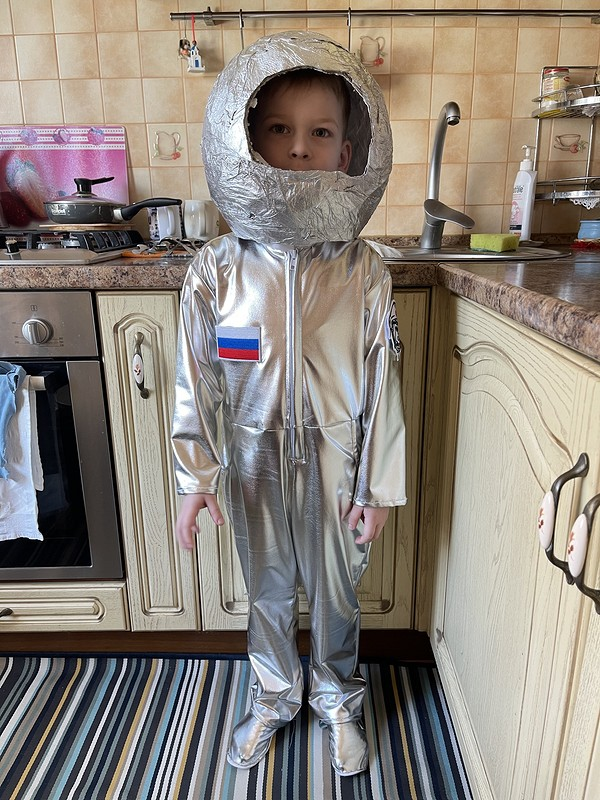 Костюм космонавта от Yano4ka89