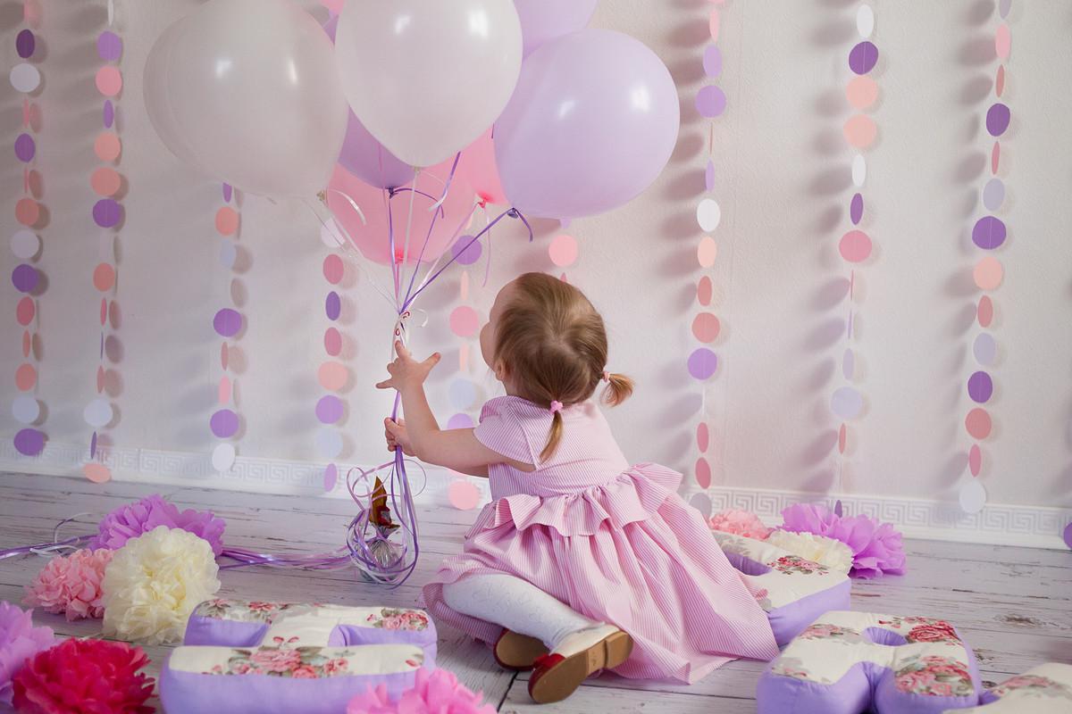 Детское розовое платье вполоску от Asami