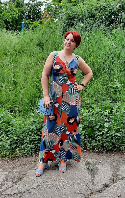 Платье - Модель 113 из6/2021 от marsellin