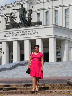 Работа с названием Платье для прогулок по Минску