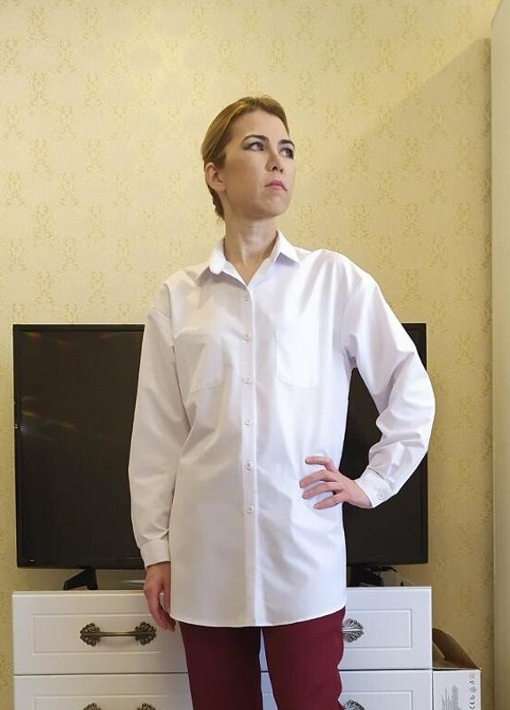 Рубашка «Большое исветлое» от Лейкоцит