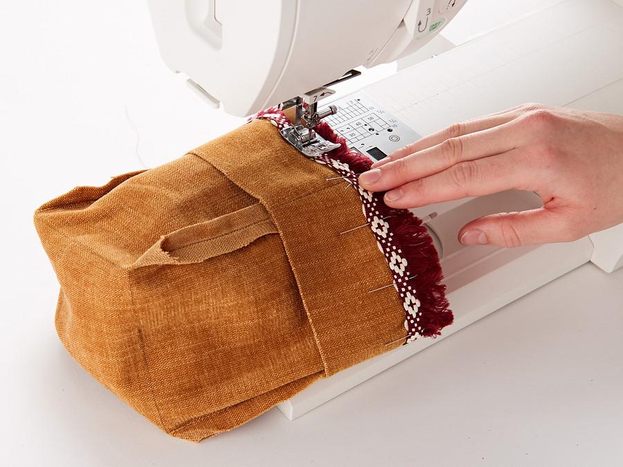 Текстильные кашпо своими руками
