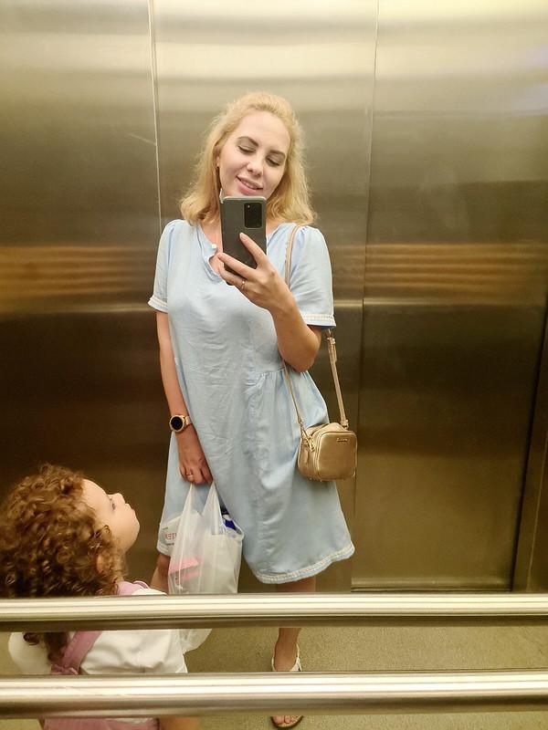 Платье свободное изплательного льна от ekaterina.v.bunina