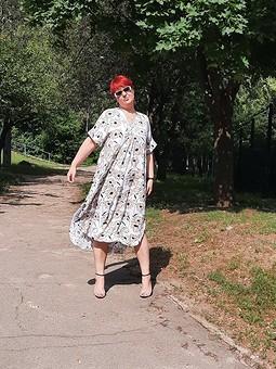 Работа с названием Еще одно июльское платье