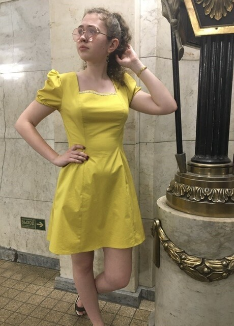 Солнечное платье от Panilena