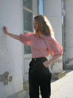 Работа с названием Блузка из шитья