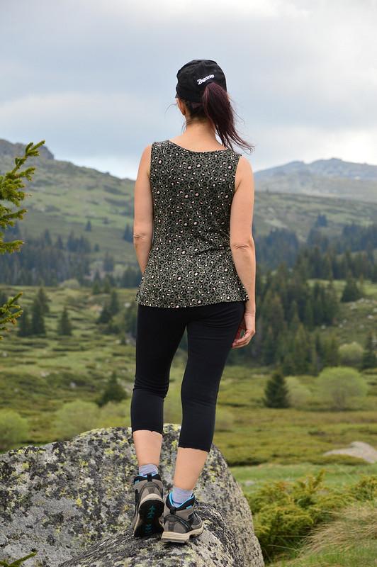 Леопардовой топ от CarmelaBiscuit