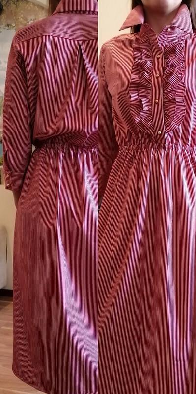 Платье пофотографии!!! от Sukharenko