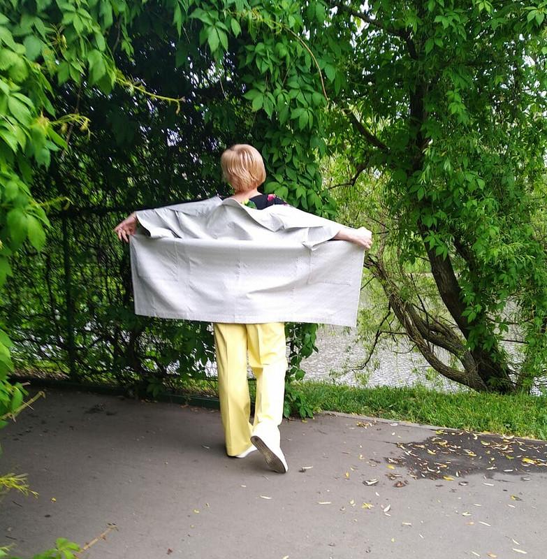 Летнее пальто от OlyaTychinina