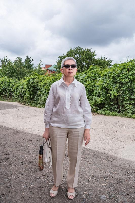 Льняная рубашка от irinabeletskaja