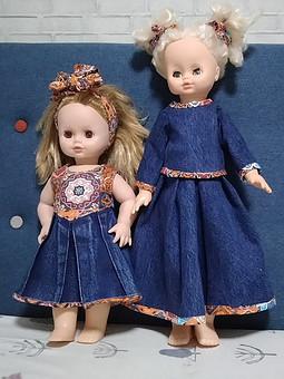 Работа с названием Джинсовая история для кукол