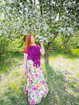 Работа с названием В душе всегда весна