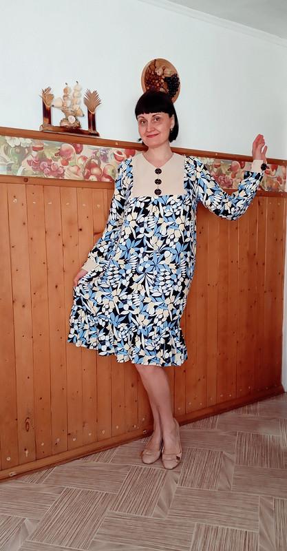 Платье насвободную тему от Ольга Найкова