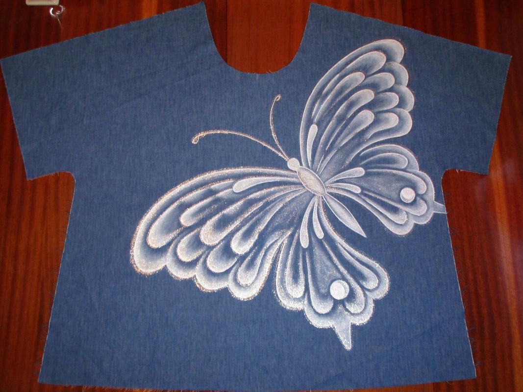 Акриловая бабочка от Tat