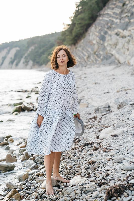 Платье наморе от Наталья Силкина