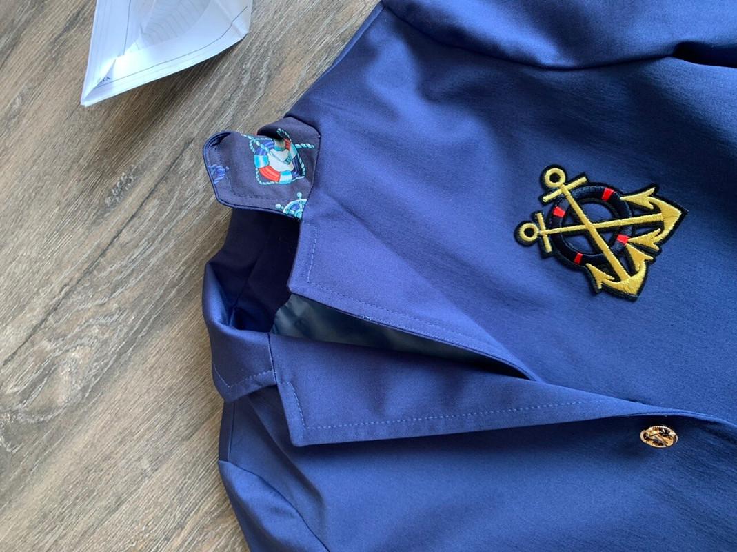 Пиджак капитана корабля от Anna Vidineeva
