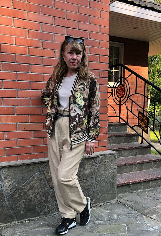 Апсайклинг: блузон итоп от verusha