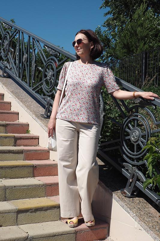 Пуловер ибрюки от Ирина Шмидт