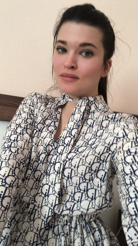 Платье встиле диор от Irena Galkina