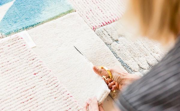Идея: ковёр встиле пэчворк