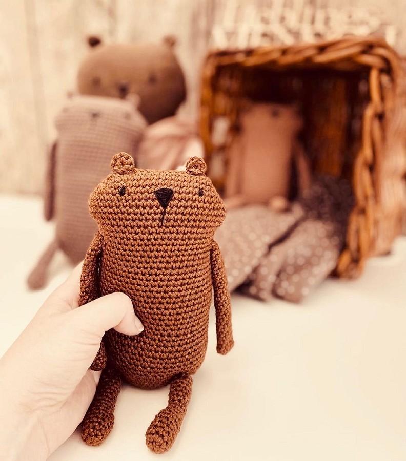 История очаровательного «бобрового медведя» иего друзей: рукодельный instagram недели