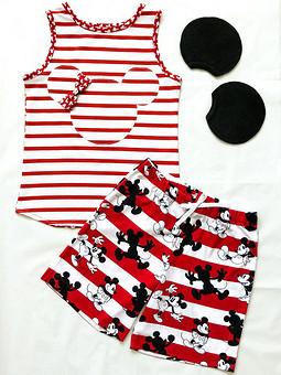 Работа с названием Летняя пижама для девочки