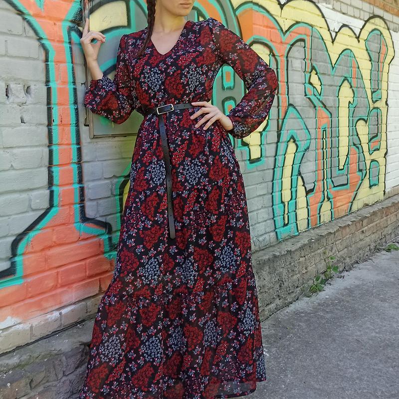 Платье изшифона от Tata