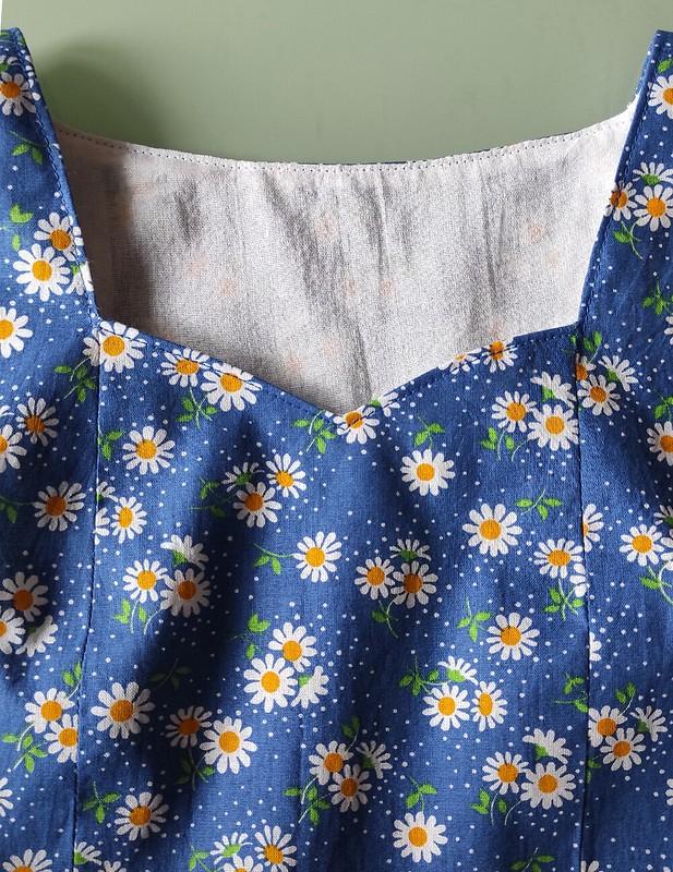 Платье сромашками от Janna