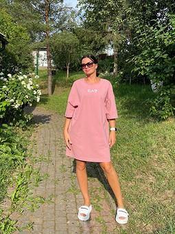Работа с названием Платье-футболка