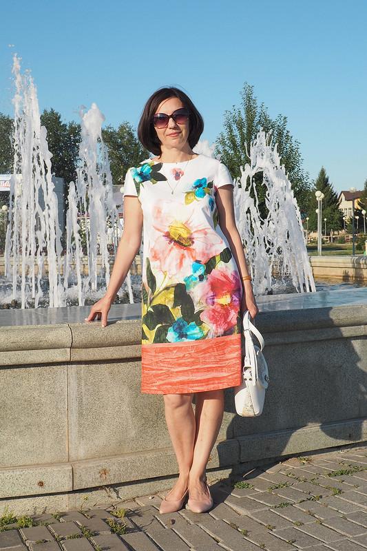 Платье А-силуэта от Ирина Шмидт