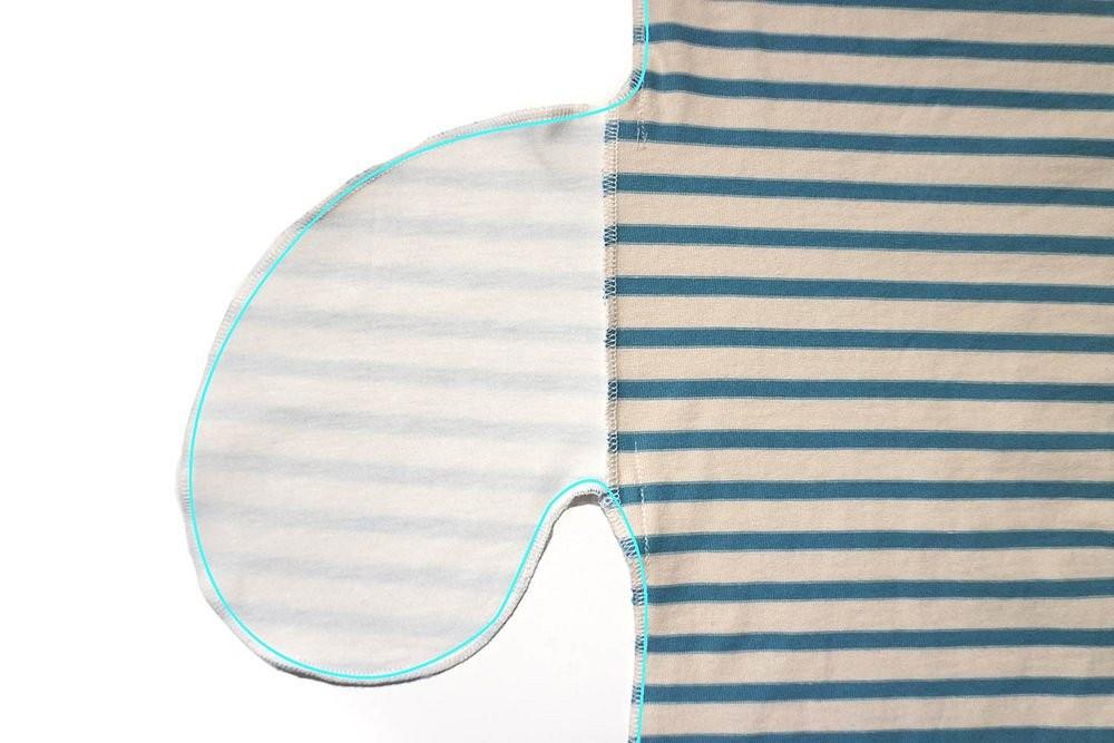Как выполнить карманы вшвах натрикотажных изделиях спомощью оверлока: удобный метод