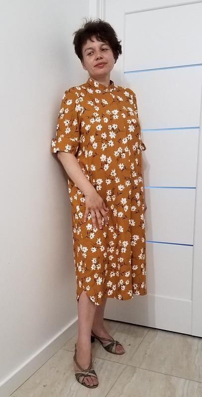 Платье-рубашка изльна от LarisaLevinskaya