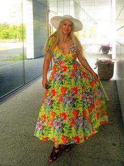 Работа с названием Круизное платье Элис