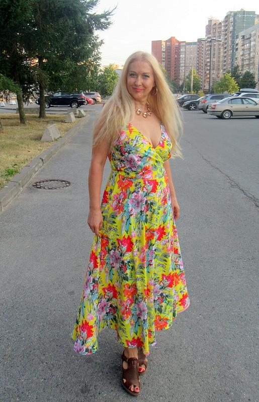 Круизное платье Элис от Elena55+
