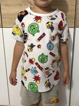 Работа с названием Детская футболка