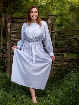 Работа с названием Платье Крестьянка